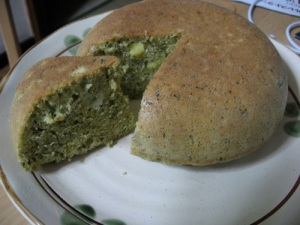 Matcha and Chestnut Cake: Worth the Pain.