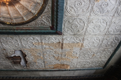 Ceiling of the family association,  Wing Luke Museum | The Lobster Dance
