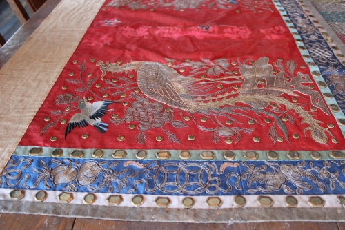 Table runner,  Wing Luke Museum | The Lobster Dance