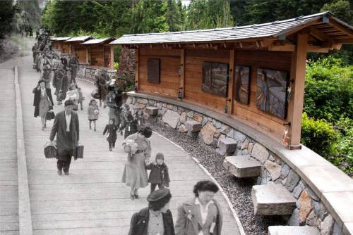 Image from Bainbridge Island Japanese American Exclusion Memorial