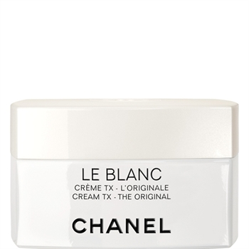 Chanel's Le Blanc (ルブラン) skin-whitening cream. Image via Chanel Japan.