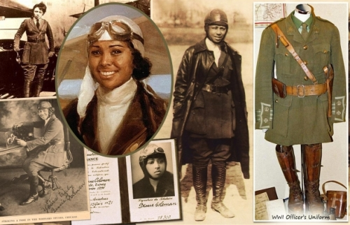 Bessie Coleman via Taking Back Halloween