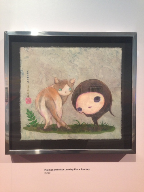Chiho Aoshima. Moimoi and Kitty Leave for a Journey, 2009. Seattle Art Museum.