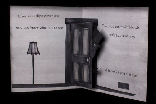 "An image from the book in ""The Babadook,"" illustrated by Alex Juhasz. Credit Conor Ashleigh for The New York Times"