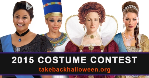 2015 Take Back Halloween Costume Contest
